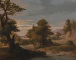 james o'connor, art, painting, oil on canvas, landscape