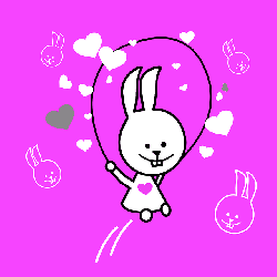 kid, child, pink, bunny, play, hearts, rabbit, rope