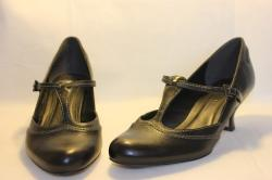 ladies shoes, shoes, black, leather, fashion, clothing