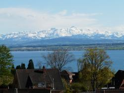 lake constance, meersburg, landscape, mountains, alpine