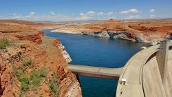 lake, lake powell, tourist attraction, national park