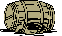 large, fall, wine, wooden, drawing, cartoon, barrel