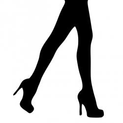 legs, woman, female, lady, girl, black, silhouette
