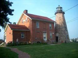 lighthouse, lake erie, great lakes