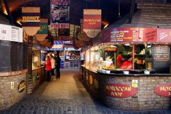 london, england, eateries, cafe, food, night, outside
