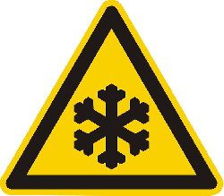 low temperature, ice, icy, cold, freeze, warning