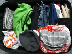 luggage, travel, holiday, packaging, clothing