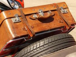 luggage, travel, spare wheel, holiday, auto, road trip