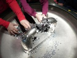 magnets, play, children, hands, experiment, magnetism