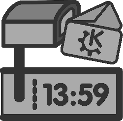 mail, flat, time, theme, received, icon, receive