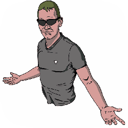 man, lost, helpless, clueless, face, sunglasses, male