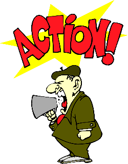 man, person, shouting, action, director, producer