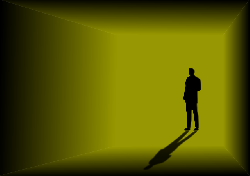man, shadow, silhouette, strange, suspense