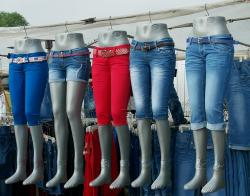 market, jeans, clothing