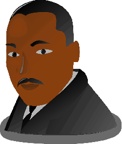 martin luther king, afroamerican, negro, black
