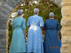 mennonites, woman, christian group, anabaptist, person