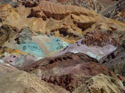 minerals, death valley, color, earth, usa, california