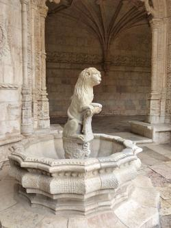 monastery, architecture, historically, lisbon, lion