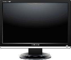 monitor, lcd, flat, theater, tv, 223, trademark