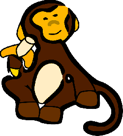 monkey, banana, mono, antonio, animal, monk