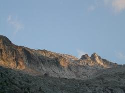 mountains, alpine, rock, scree, pico aneto, pyrenees