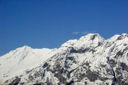 mountains, alpine, winter, snow, postkartenmotiv