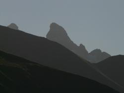 mountains, mountain panorama, panorama, trettachspitze