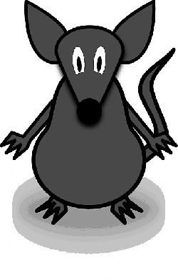 mouse, simple, cartoon, tail, pest, fear, phobia