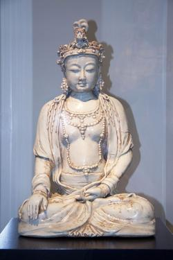 museum rietberg, art from asia, buddha, clay sculpture