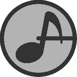 music, flat, note, audio, theme, icon