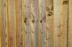 new, wooden, boards, fence, background
