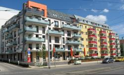 nordhausen, germany, buildings, colorful, apartments