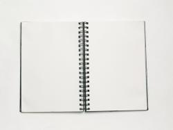 notepad, notes, paper, blank, school, book, education