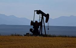 oil pump, montana, usa, landscape, scenery