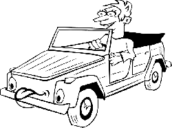 old, black, drive, outline, drawing, people, boy, man