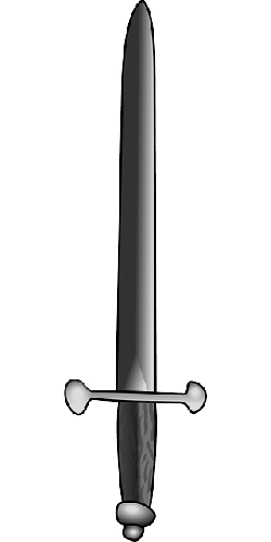 old, simple, grey, sword, weapon, fencing, weapons