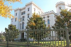 old state capitol, mansion, governor, baton rouge