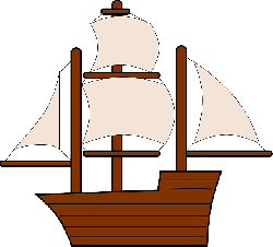 old, water, outline, sailing, cartoon, ship, boat