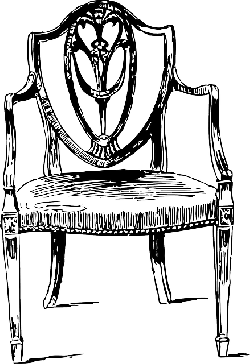 old, wooden, drawing, chair, free, furniture, wood