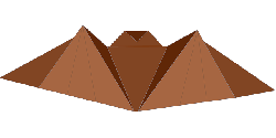 origami, folding, paper, animal, bat, fold, mammal