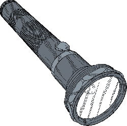 outline, lamp, police, cartoon, battery, light
