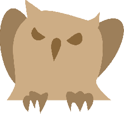 owl, animal, bird, angry