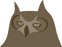 owl, animal, bird, face, head