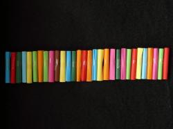 paper, roll, loose, colorful, color, colorful paper
