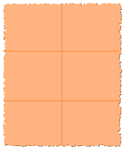 parchment, paper, orange, checkered, squared