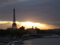 paris, eiffel tower, seine, monument, france, river