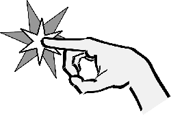 park, computer, point, icon, left, outline, hand