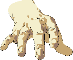 part, hand, people, cartoon, out, free, body, hands