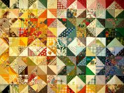 patchwork, fabric, padding, patchwork quilt, blanket