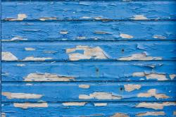 peeling, flaking, paint, blue, wood, texture